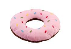 Donut cushion for home decoration Stock Photos