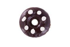 Donut in der Schokolade mit Eibisch Stockbilder