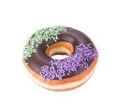 Donut. donut on the background stock image