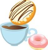 Donut Dunk Stock Image