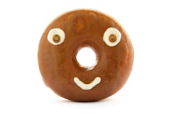 Donut face Royalty Free Stock Images