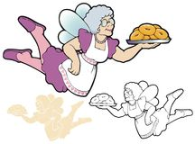 The Donut Fairy Stock Images