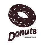 Donut  flat illustration Stock Photography