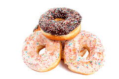 Donut glaze Royalty Free Stock Photography