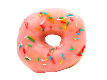 Donut glaze Royalty Free Stock Image