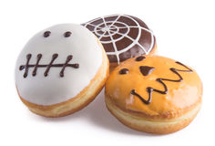 Donut. halloween donut on the background Stock Photo