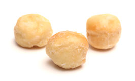 Donut Holes. On a white background Stock Images