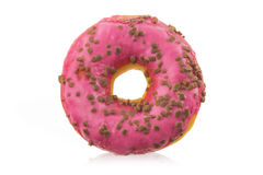 Donut with icing Royalty Free Stock Image