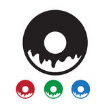 Donut Icon Stock Images