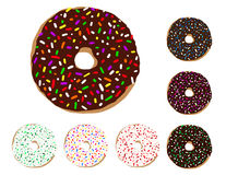 Donut Illustration Stock Photo