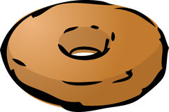 Donut illustration Stock Image