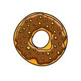 Donut.  illustration Stock Photo