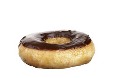 Donut. Increased in the photographed donut studio isolated Royalty Free Stock Photography