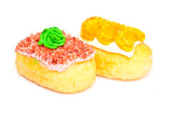 Donut on isolate Stock Images