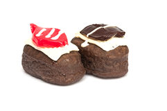 donut on isolate Stock Photos
