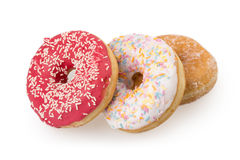 Donut. Isolated on white background Royalty Free Stock Images