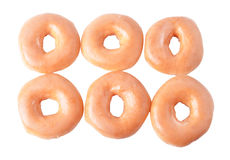 Donut isolated on white background Royalty Free Stock Photography