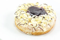 Donut with jam Stock Images