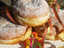Donut am Karneval Lizenzfreie Stockfotos
