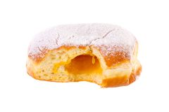 Donut Krapfen-Bewohner von Berlin Pfannkuchen Bismarck erhellt stockfoto