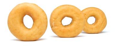 Donut Lineup Stock Photos