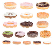 Donut Menu Royalty Free Stock Images
