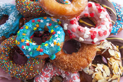 Donut mix royalty free stock image