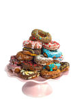 Donut mix Stock Photo