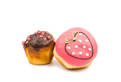 Donut muffins Royalty Free Stock Photos