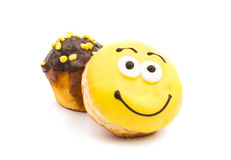Donut muffins Stock Photos
