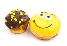 Donut muffins Royalty Free Stock Photo