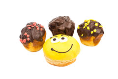 Donut muffins Royalty Free Stock Photography
