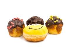 Donut muffins Stock Photo