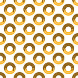 Donut pattern seamless Royalty Free Stock Images