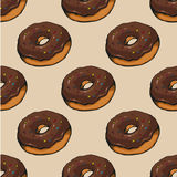 Donut pattern 14 Royalty Free Stock Photography
