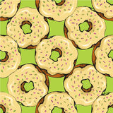 Donut pattern 16 Stock Photos