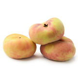 Donut peaches Stock Photo
