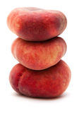 Donut peaches Stock Image