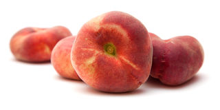 Donut peaches Stock Photos