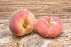 Donut peaches Royalty Free Stock Photos