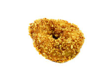 Donut with peanut Royalty Free Stock Image