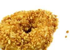 Donut with peanut Royalty Free Stock Photos