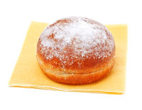Donut in powdered sugar Stock Images