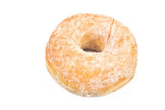 Donut powdered with suger Stock Photo