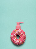 Donut pump. Royalty Free Stock Photo