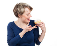 Donut's time Stock Photography