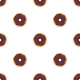 Donut Seamless Background Texture Pattern Royalty Free Stock Images