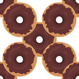 Donut Seamless Background Texture Pattern Royalty Free Stock Photos
