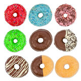 Donut set Royalty Free Stock Photo