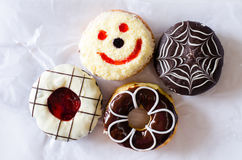 Donut set Stock Photography
